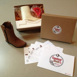 CakeStructure Cowboy Boot Kit