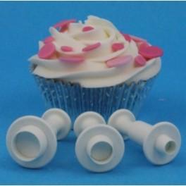 PME Miniature Plunger Cutter Kreise 3 Teillig
